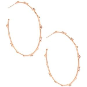 Kendra Scott Zella hoop earrings